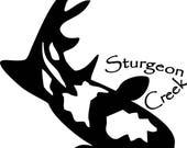 Custom listing for dwstory - 12 pints with Sturgeon creek art