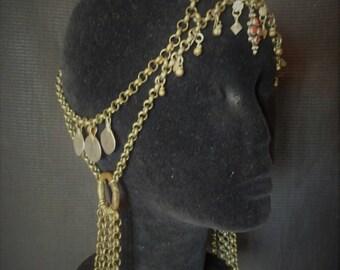Tribal fusion headdress.