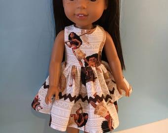 "14.5"" character dress"