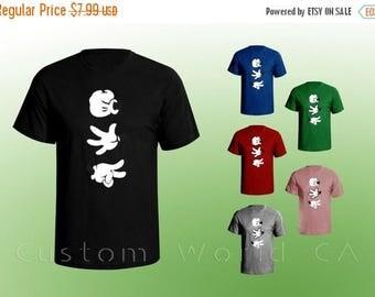 ON SALE TODAY Mickey Hands Rock Paper Scissor Men Tshirt - Rock Paper Scissor Tshirt