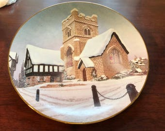 David Winter Cottages Plate