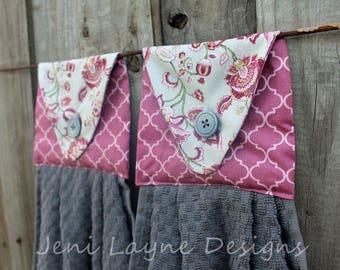 Hanging Kitchen Towels- Set of 2     Kitchen Towels, Hanging Towels, Kitchen Linens,