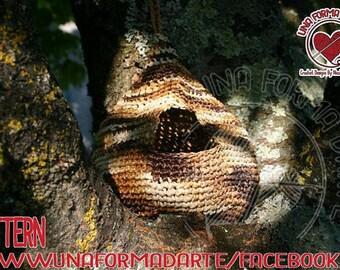 Crochet Pattern Nido Per Uccellini