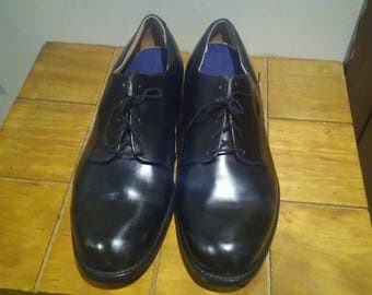 Craddock-Terry 1985 Black Shoes 10 1/2 W