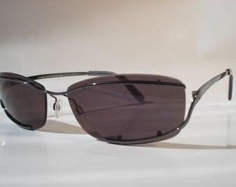Carolina Herrera Black Men Sunglasses CH-349 501-RT 125 Fashion Eye Frames