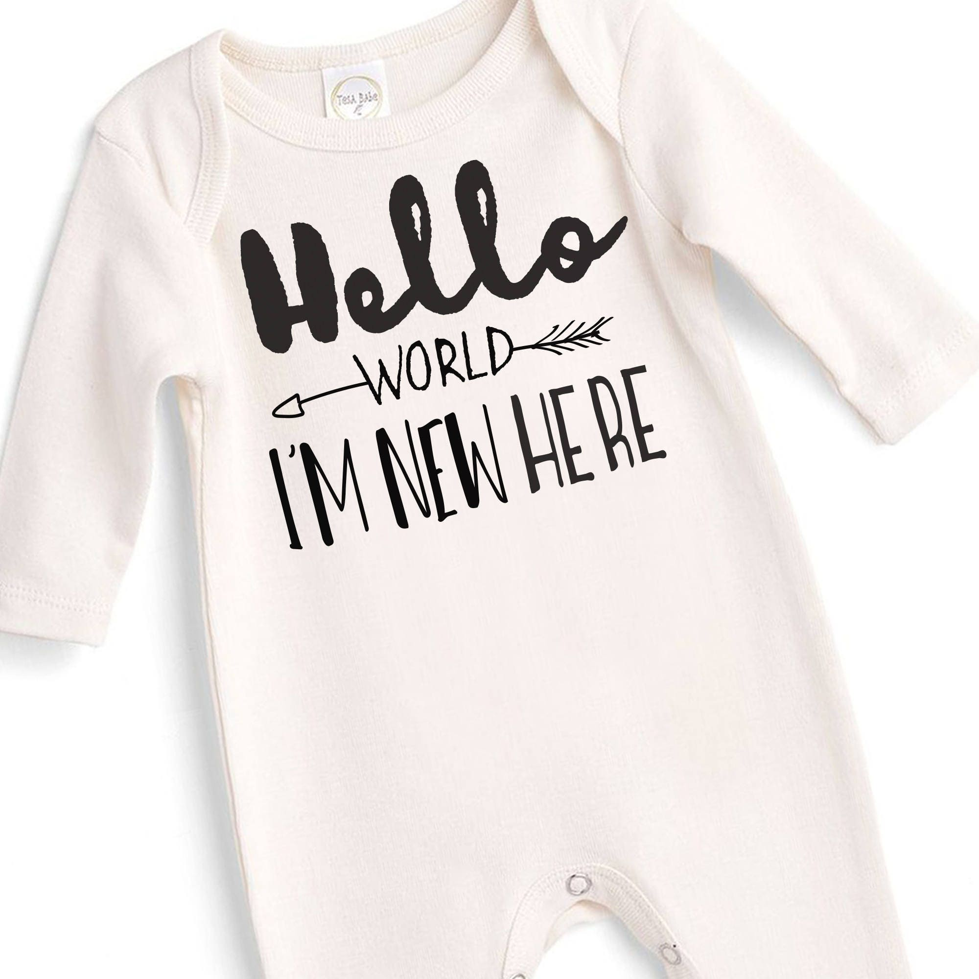 Newborn Baby ing Home Outfit Neutral Baby Clothes Baby Uni