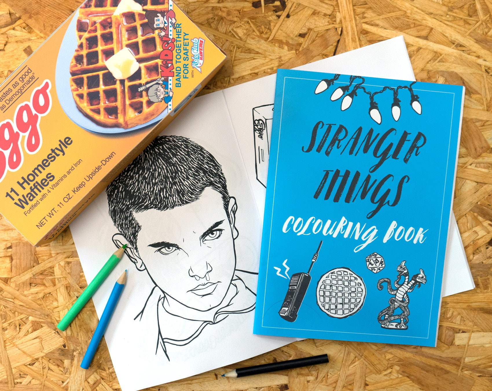 Stranger Things Colouring Book