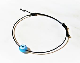 Evil Eye Bracelet, Minimal Bracelet, Mati Bracelet, Greek Bracelet, Marti Bracelet, Protective Bracelet, Adjustable Bracelet, Easter Gifts