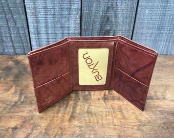 1970's Buxton Tri Fold Wallet