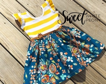 Easter dress 2t yellow