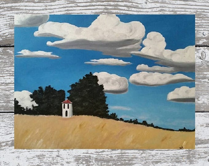 Fields Of Gold - Oil Painting - Large