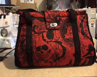 Red Gothic Doctor bag