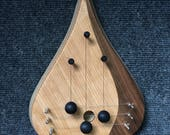 Cherry/Walnut door harp