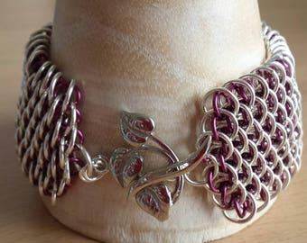 Dragonscale  Chainamail Bracelet