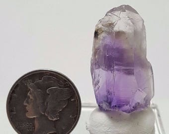 Outstanding Small Amethyst Quartz Crystal, from Guerrero, Mexico- 5 1/2 Grams, 1 inch tall by 1/2 wide