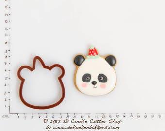 Panda Cookie Cutter Etsy