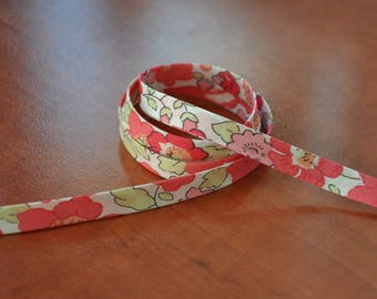 Betsy Fraise tagada Liberty bias tape/ Liberty binding  (one meter length)