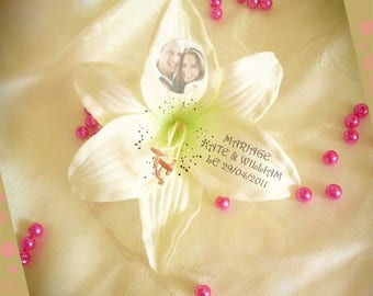 Personalized gift Lily printed with your words and pictures