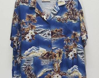 Vintage The Original Hawaii button downs casual shirt