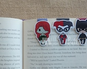Magnetic Bookmarks • The Evil Trio