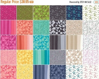 AUG10 Spectrum Jelly Roll by V & Co. for Moda Fabrics