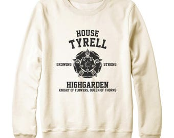 House Tyrell Tshirt Game of Thrones Tshirt Graphic Tee Shirt Funny Shirt Game Of Thrones Sweatshirt Oversized Women Sweatshirt Men Sweater