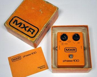 Vintage MXR Phase 100 Guitar effect pedal