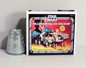 Star Wars Millennium Falcon Spaceship Box - Dollhouse Miniature 1:12 Scale  -  Dollhouse accessory  1970s 1980s Dollhouse boy toy box