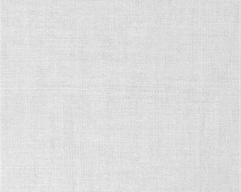 Permanant press white muslin fabric by the yard, Roc-lon muslin, 100% cotton bleached pre-shrunk muslin, quilting muslin, lining fabric