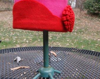 Baby Girl's Felt Cloche Hat