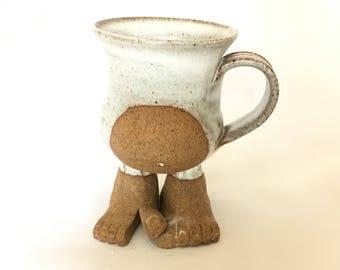 Stoneware Foot and Belly Mug
