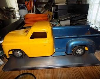 Vintage Structo Pressed Steel Pick Up Truck 1950s Nice Shape