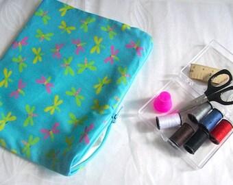 sewing travel kit sewing kit blue mini sewing bag blue dragonfly sewing kit