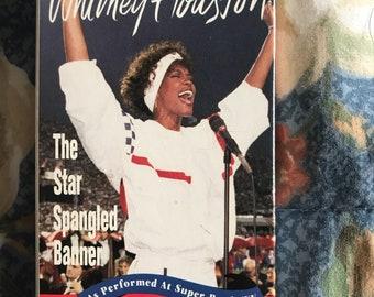 Whitney Houston Star Spangled Banner on Cassette