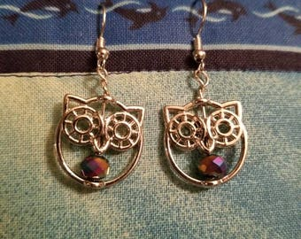 Super Mega Adorable Owl Earrings