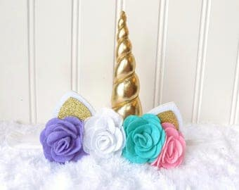 unicorn headband baby girl unicorn headband unicorn crown unicorn bow unicorn hair bow unicorn clip unicorn photo prop newborn toddler