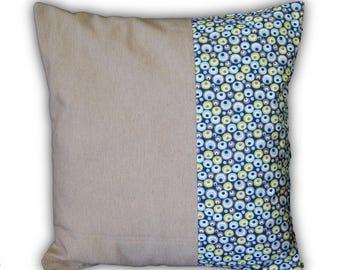Pillow cover pop bi material
