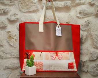 Large Dragonfly oilcloth Tote