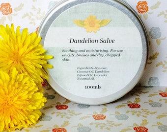 Handcrafted Dandelion Salve