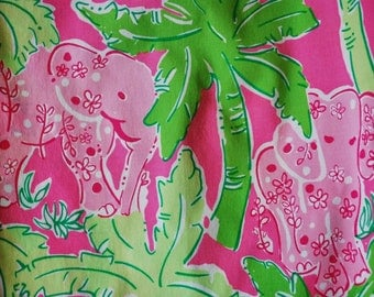 Taboo  cotton poplin  ~Lilly Pulitzer~   18 X 18 inches