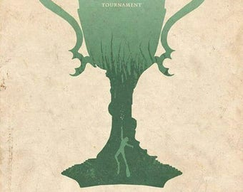 """Harry Potter Goblet Of Fire Print With Free Alternative """"Goblet Of Fire"""" print"""