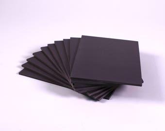 Super Soft Lino Blocks 150mm x 200mm Grey Double Sided Printing Lino Blocks Choose Quantity