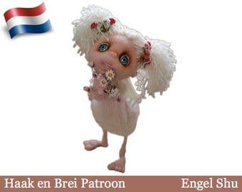 148NLY Haak patroon - Engel Shu - Amigurumi Pop zacht speelgoed PDF file by Pertseva Etsy
