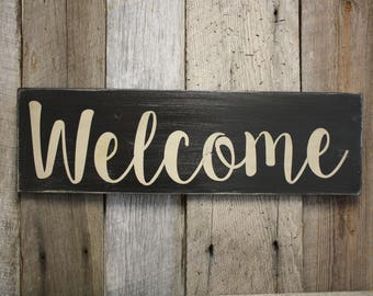 Welcome Wall Decor welcome wall decor | etsy