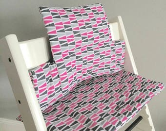 "Highchair Cushion ""Tipis multicolor"" for Stokke Tripp Trapp"