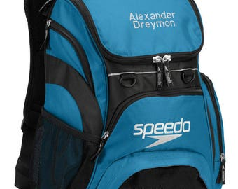 Speedo Teamster Backpack with Free Embroidered Name