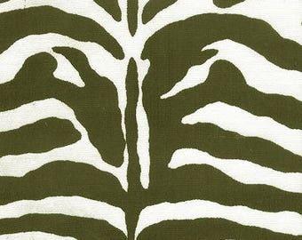 SALE!!!! Zebra, Indoor/Outdoor, Zebra Black & White, Fabric By The Yard