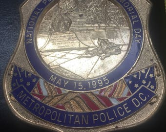D.C. Police Badge