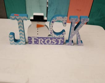 Jack Frost Christmas craft
