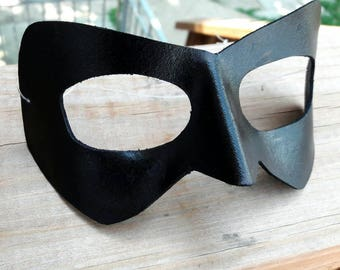 Basic Super Hero Leather Masquerade Mask